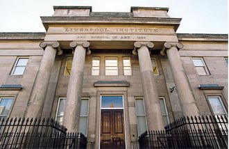 Jim and Mary McCartney - The Liverpool Institute, at which both Paul and Michael McCartney gained a place after passing the Eleven-plus Exam.