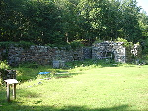Long Pond Ironworks State Park - The Civil War Era Iron Furnace at Long Pond Iron Works