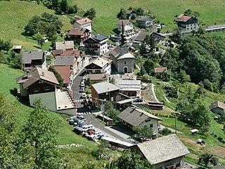 La Forclaz Commune in Auvergne-Rhône-Alpes, France