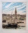 La Grand'Porte de Saint Malo, eau forte, (16 x 20 cm) Malo-Renault.jpg