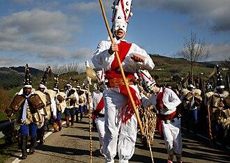 Fiestas of National Tourist Interest of Spain - Image: La vijanera Asociación cultural amigos de la vijanera de silio