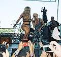 Lady Gaga at Lollapalooza 2010.jpg