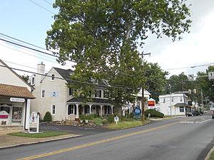 Huntingdon Valley, Pennsylvania - Lady Washington Inn on Huntingdon Pike