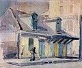 Lafittes Blacksmit Shop, Bourbon Street, Vieux Carre by Ellsworth Woodward.jpg