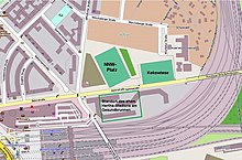 Berliner Stadion Plätze