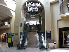 Former Laguna Cafes Food Court Entrance At Hills Mall