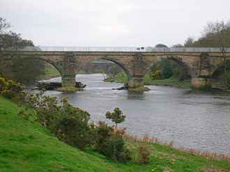 1812 in rail transport - Laigh Milton Viaduct, Kilmarnock and Troon Railway