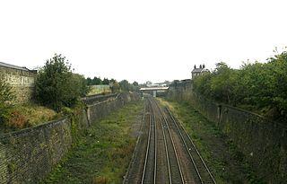 Laisterdyke railway station