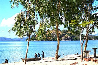 Mangochi - Lake Malawi, on eastern edge of Mangochi