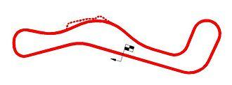 Lakeside International Raceway - Image: Lakesidemap