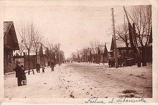 Shtetl type of Jewish market town
