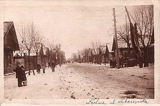 Shtetl - Image: Lakhva 1926
