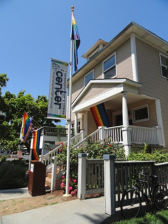 Midtown Sacramento - The Sacramento LGBT Community Center (formerly the Lambda Center), located in the Lavender Heights district.