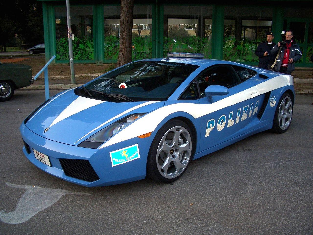 lamborghini polícia