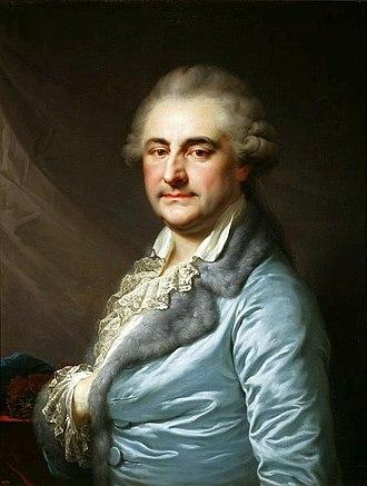 Johann Baptist von Lampi the Elder - Image: Lampi Stanislaus Augustus in a dressing gown