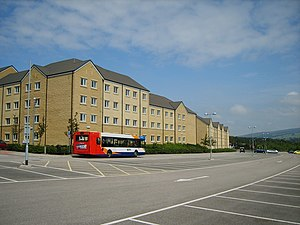 Lancaster University - Student accommodation in south-west campus