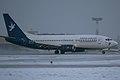 """Landing B-737 """"Slovak Airlines"""" OM-AAD (4787516160).jpg"""