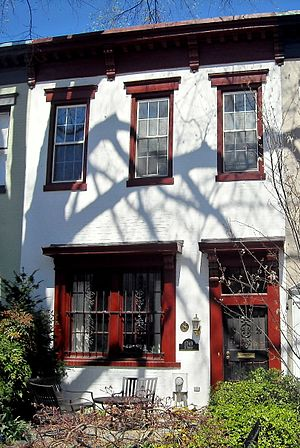 Strivers' Section Historic District - Image: Langston Hughes residence