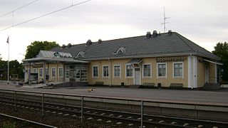 Lappeenranta Central Station train station in Finland