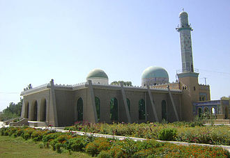 Islam in Afghanistan - A mosque in Lashkar Gah, in the south of the country