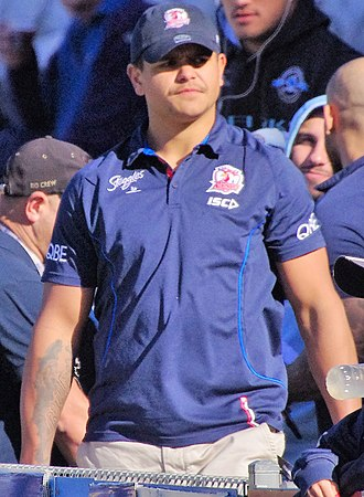 Latrell Mitchell - Image: Latrell Mitchell Sydney Roosters