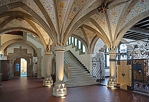 Musée historique de Haguenau - Image: Le hall du musée historique de Haguenau (35413658673)