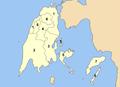 Lefkada municipalities numbered.png