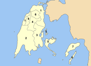 Lefkada municipalities numbered.png