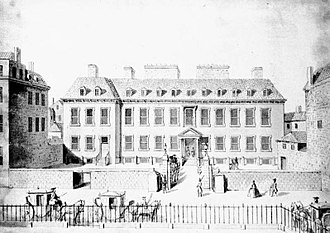 Townhouse (Great Britain) - Leicester House on Leicester Square, 1748
