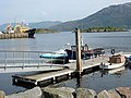 Leisure craft pontoons at Kyle of Lochalsh - geograph.org.uk - 1555273.jpg