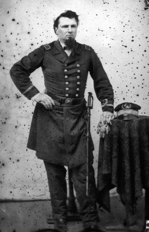 Wrangell Bombardment - Leon Smith in Confederate uniform