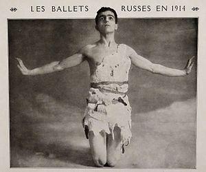 """Josephslegende - Leonide Massine as Joseph in the """"Legend of Joseph"""" (1914)"""