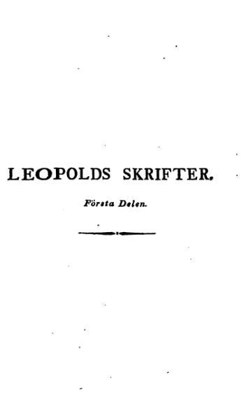 File:Leopold Samlade 1 1814.djvu