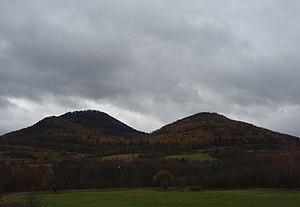 Doupov Mountains - Doupov Mountains as seen from Klášterec nad Ohří