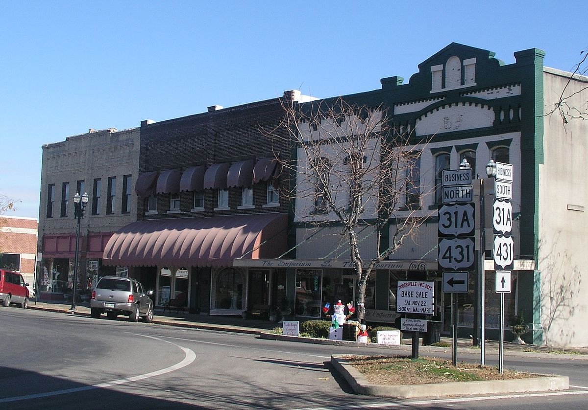 Lewisburg tennessee travel guide at wikivoyage for Best small towns in tennessee to live
