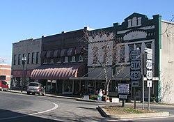 Lewisburg, WV : Lewisburg - Greenbrier Valley Theatre and Street ...