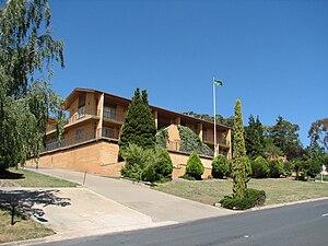 African Australians - The embassy of Libya in O'Malley, Australian Capital Territory