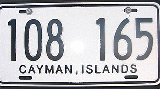 Vehicle registration plates of the Cayman Islands Cayman Islands vehicle license plates