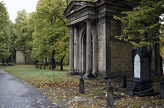 Great Cemetery - Mausoleum of C. H. Berg in Riga's Great Cemetery