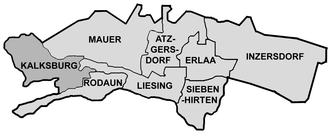 Kalksburg - Location of Kalksburg