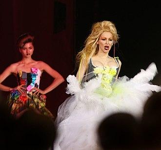 Heatherette - Heatherette fashion show at the Life Ball, 2007