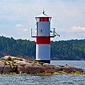 Lighthouse near Vaxholm Sweden 2011.jpg