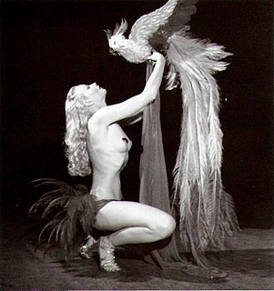 Lili St. Cyr American model and burlesque performer