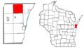 Lincoln, Kewaunee County, Wisconsin.png