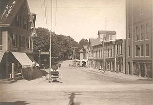 Dover-Foxcroft, Maine - Image: Lincoln Street, Foxcroft, ME