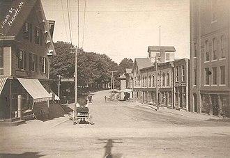 Dover-Foxcroft, Maine - Image: Lincoln Street, Foxcroft, ME