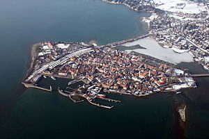 Lindau - Lindau in winter