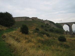 Berwick Castle - Image: Lindisfarne 470