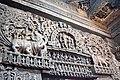 Lintel relief Sculpture at Channakeshava temple, Belur.jpg