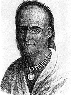 Little Turtle Chief of the Miami people (c. 1747 – July 14, 1812)